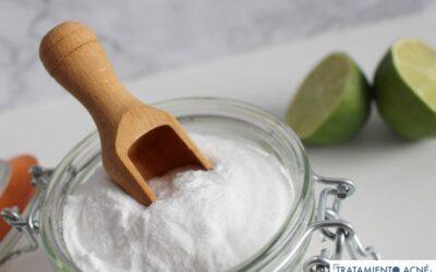 Bicarbonato de sodio para tratar el acné