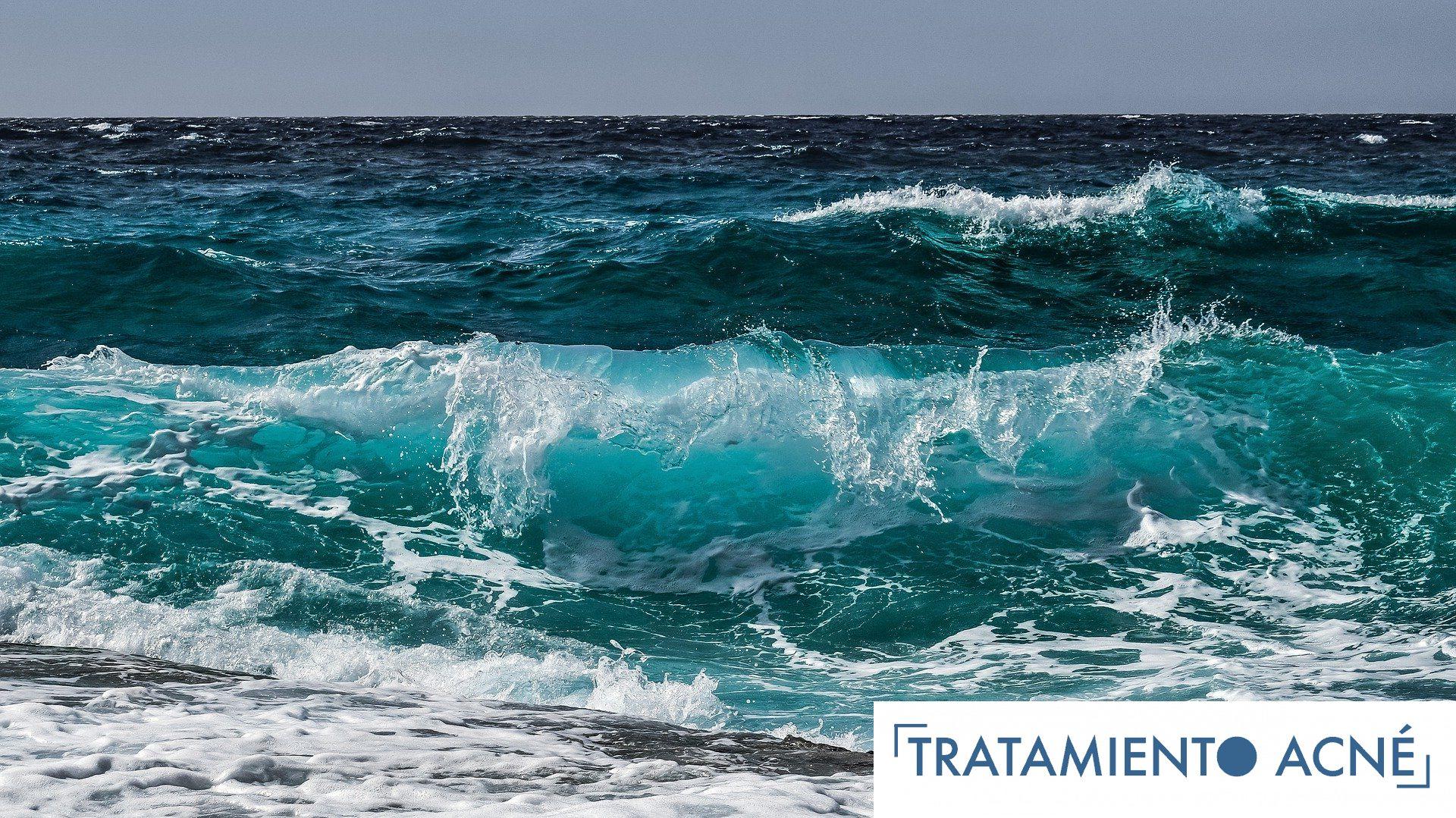 ¿Afecta el Oceano al Acné?