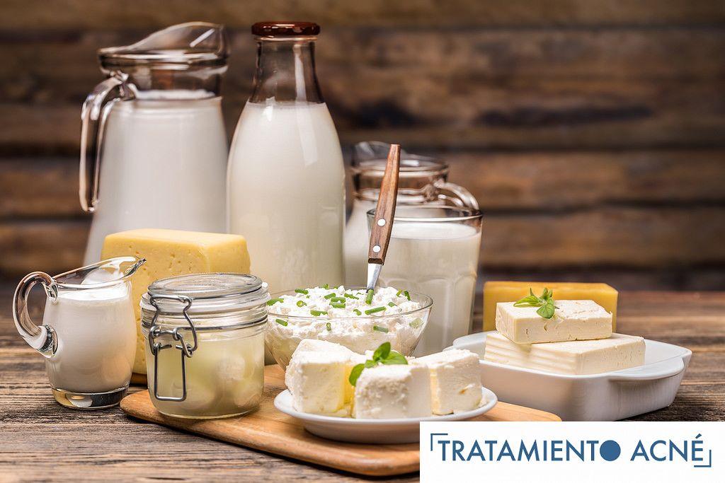 Productos Lacteos y el Acne
